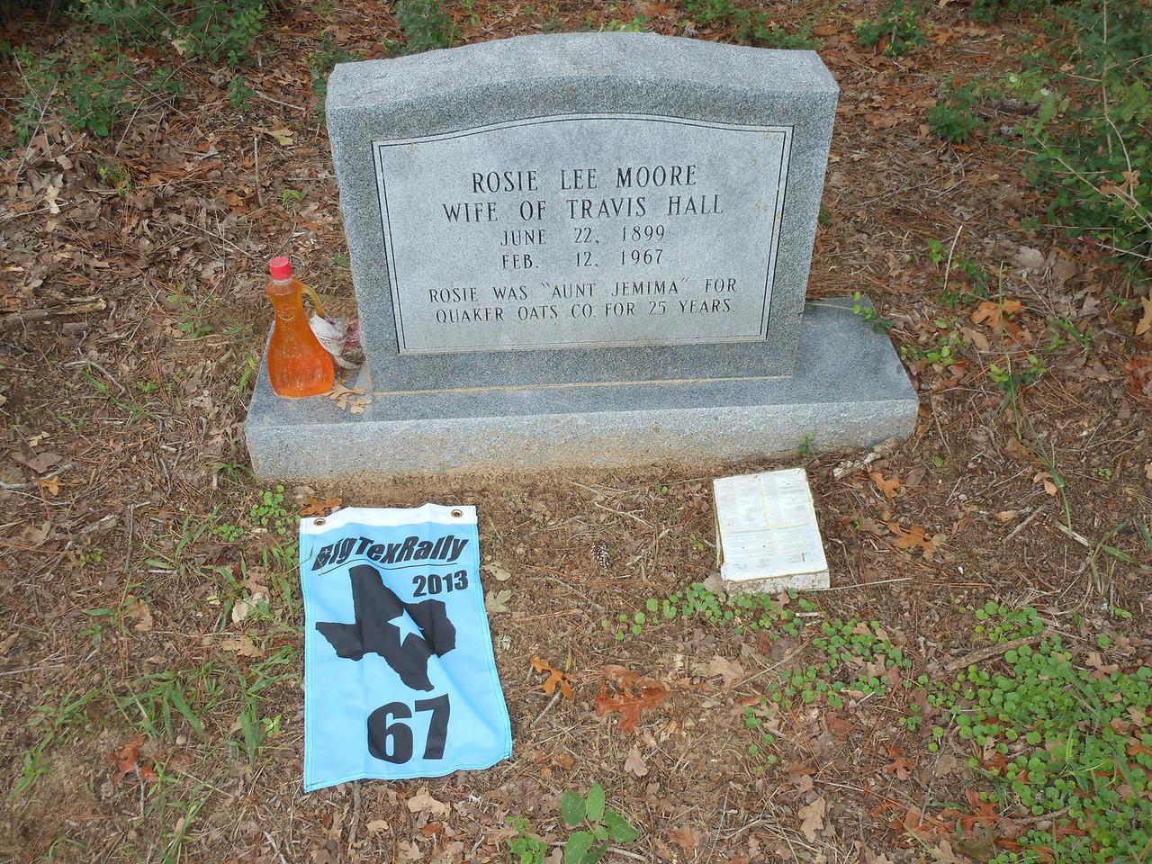 Aunt Jemima's Grave