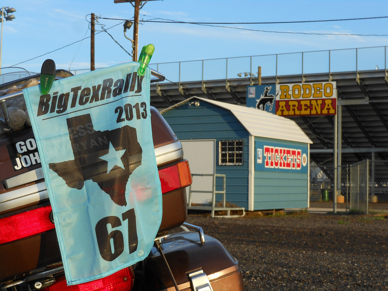Texas Icon - A Rodeo Arena, this in Longview