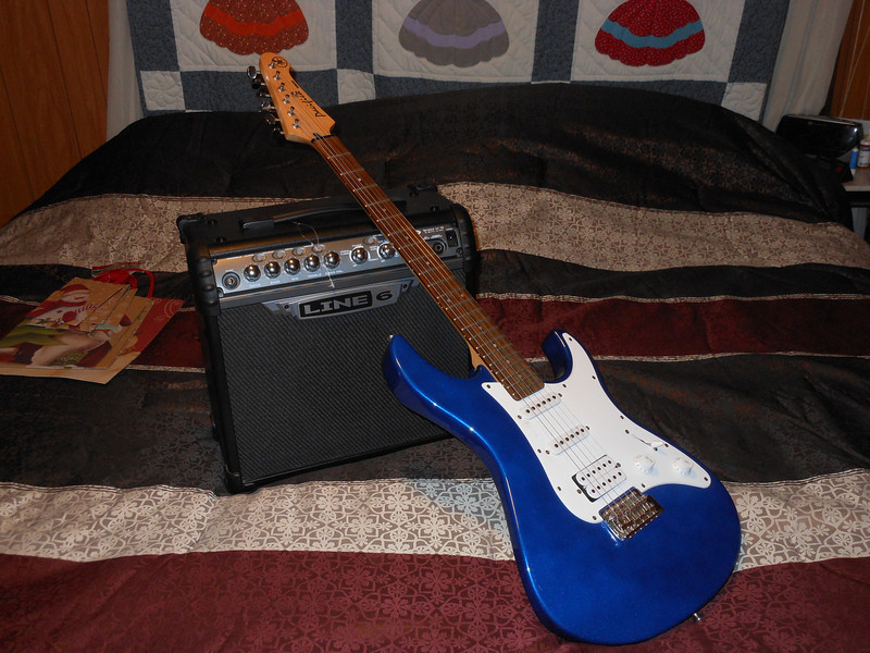 Yamaha Pacifica and Line 6 Amplifier for Michael