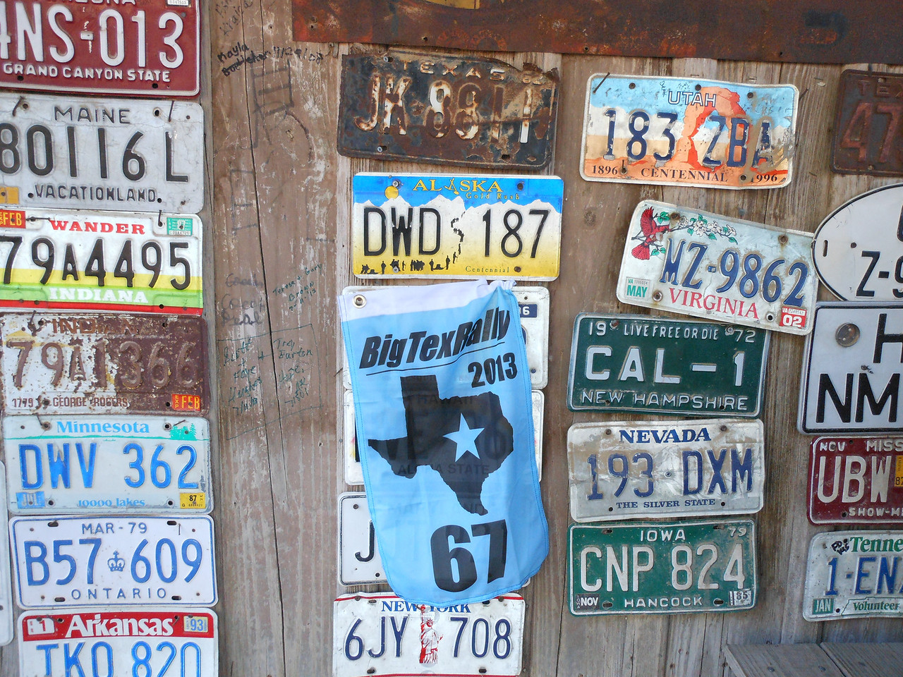 License Plate, a 500 point bonus