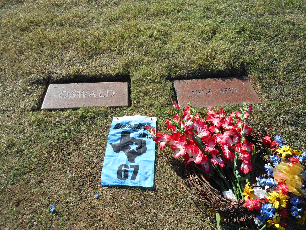 Grave of Lee Harvey Oswald